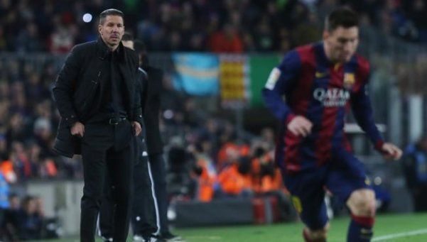 Messi: Es muy incómodo jugar contra el equipo del Cholo