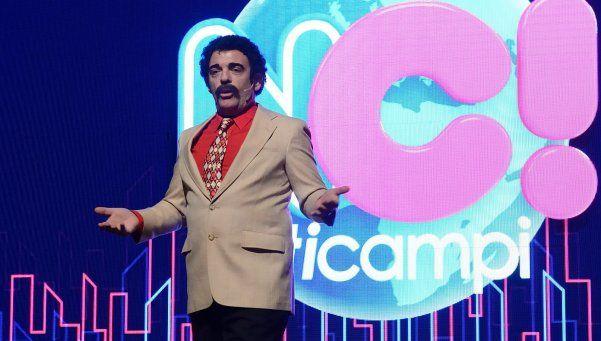 Campi arrancó bien con su noticiero de humor NotiCampi