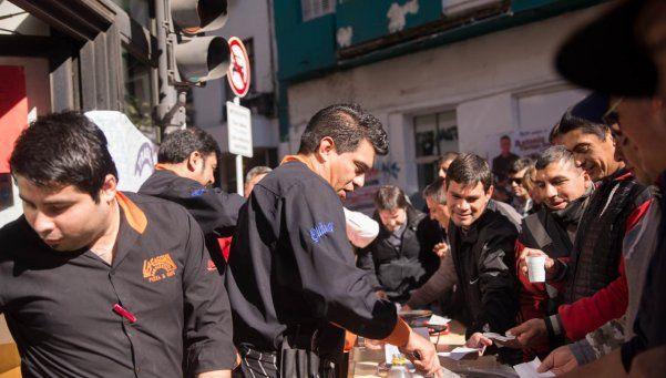 La popular pizzería La Casona: protesta por intento de desalojo