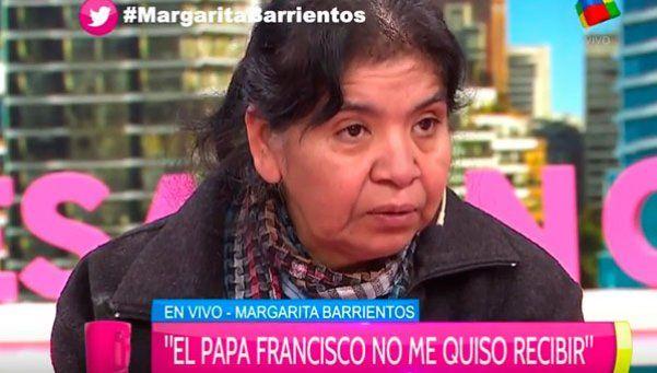 El día que el Papa no recibió a Margarita Barrientos