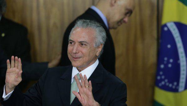 Brasil: analizarán un pedido de juicio político contra Temer