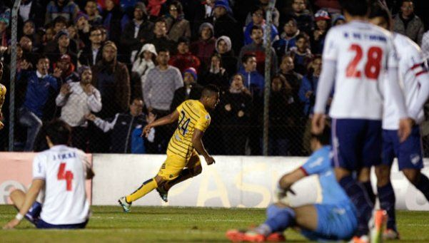 Boca empató e hizo un gol de visitante que lo acerca a la semifinal