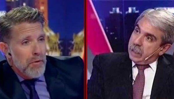 El picante cruce entre Aníbal Fernández y Alejandro Fantino en Twitter