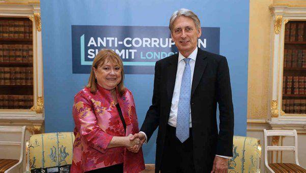 Se produjo la primera reunión bilateral con el Reino Unido