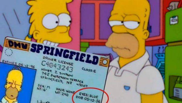Homero Simpson cumplió 60 años