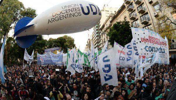 Una clase de protesta: todas las universidades, la universidad