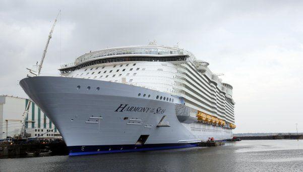 El crucero más grande del mundo mide más de 360 metros de largo