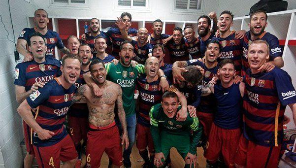 Barcelona festeja otra vez: se consagró campeón de España