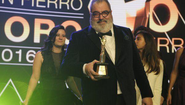 Jorge Lanata se llevó el Martín Fierro de Oro