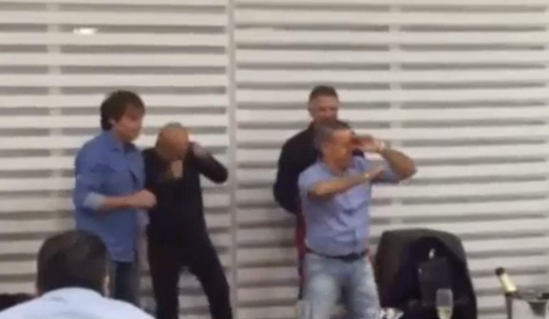 Video   El baile hot de Oyarbide en el sindicato de taxis
