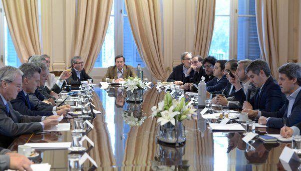 Macri encabezó una nueva reunión de gabinete