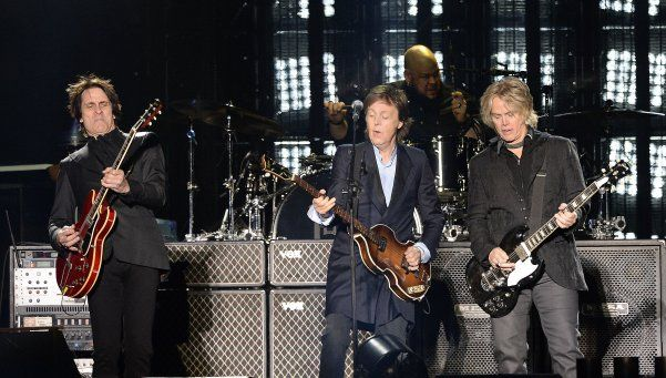 Sir Paul McCartney fue puro fuego
