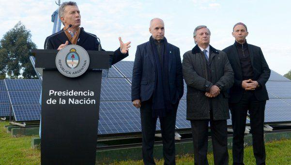 Macri se quejó de la crisis energética que heredó del kirchnerismo