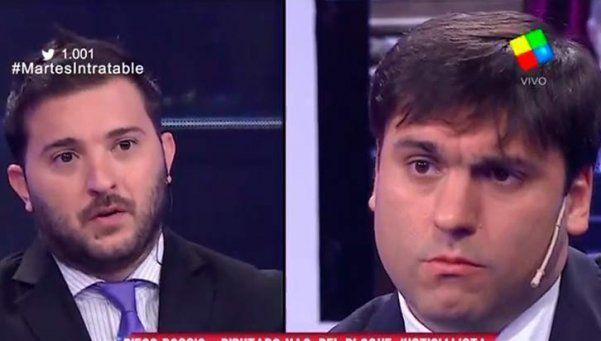 """Bossio y un picante cruce con Brancatelli en """"Intratables"""""""