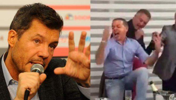 """La muestra funcionó: Tinelli pide a Oyarbide en el """"Bailando 2016"""""""