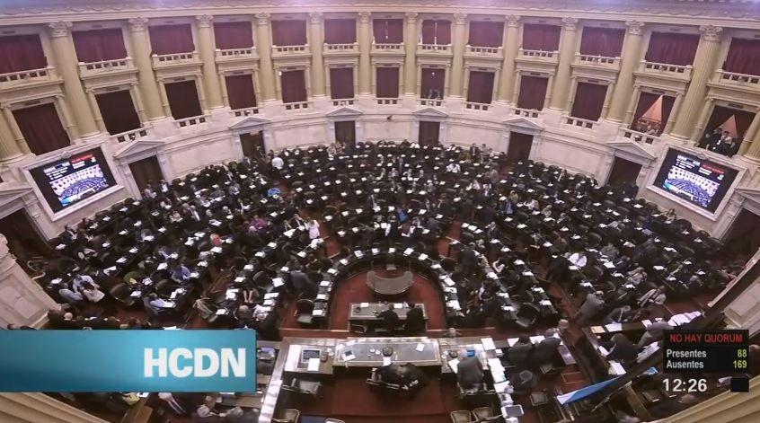 En vivo | Seguí todo el debate en Diputados