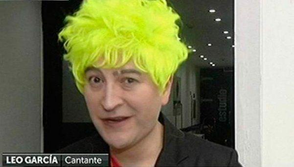 """Leo García: """"¡Me agarró un ataque de expresión artística!"""""""