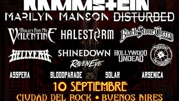 Las huestes del Metal: se viene un año de recitales inolvidables