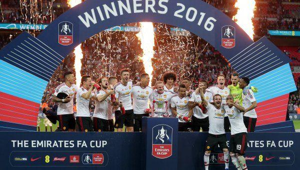 El United venció a Crystal Palace y es campeón de la FA Cup