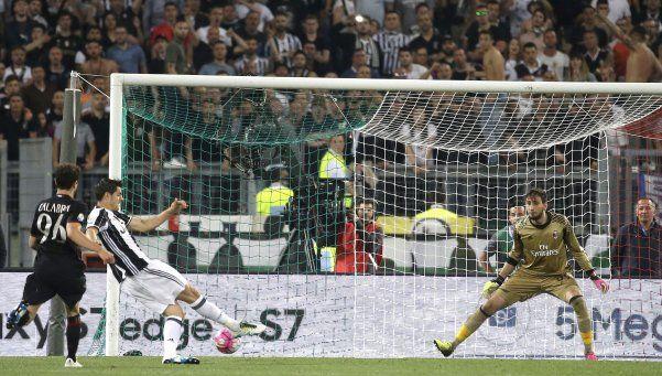 Juventus manda en Italia: le ganó a Milan y se quedó también con la Copa