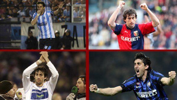 Los 22 del 22: los mejores y más emotivos goles de la carrera Milito