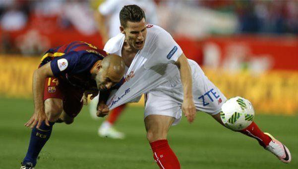 La prematura expulsión de Mascherano que dejó al Barcelona con diez