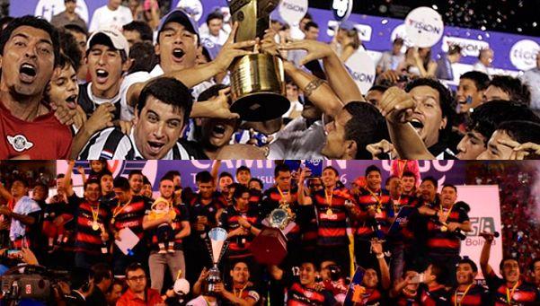 Fútbol sudamericano: Wilstermann y Libertad, campeones