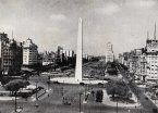Archivo   Así se erigió el Obelisco hace 80 años