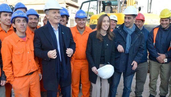 """Macri en Morón: """"Vamos a demostrar que las obras se pueden hacer"""""""