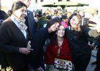 Macri faltó, pero  Michetti celebró el 25 de Mayo en Los Piletones