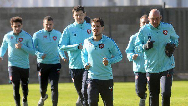 Mercier, Blandi y Romagnoli se preparan para volver