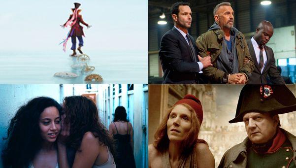 Marche media docena de películas para este jueves