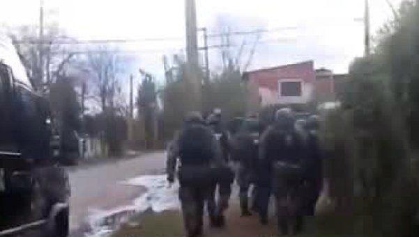 Video | Así fue el allanamiento en el que asesinan a policía