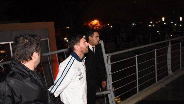 Messi se sumó a la concentración de la Selección en EE.UU.