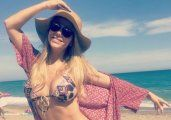 Fotos | Evangelina Anderson lució sus curvas en Marbella