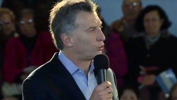 Macri llamó a repatriar los millones que argentinos se llevaron al exterior