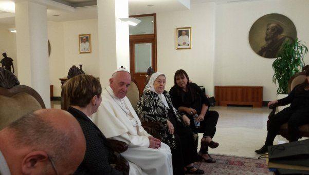 """Bonafini le escribió al Papa Francisco: """"Ayudanos con tus palabras"""""""