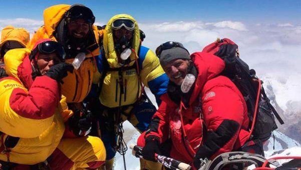 Tras subir al Everest, Arana compartió un emotivo mensaje