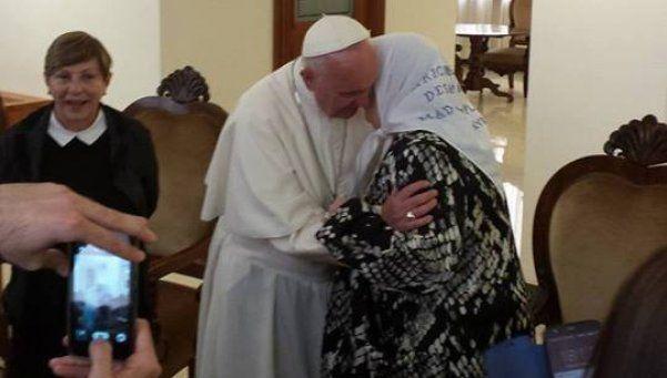 El Papa Francisco recibió a Hebe de Bonafini en el Vaticano