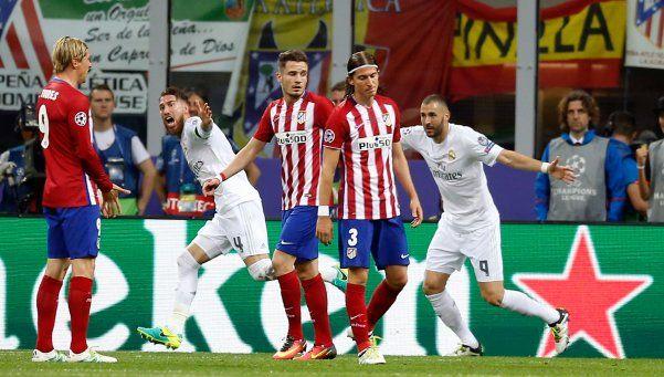 Real Madrid se llevó la Champions en los penales ante Atlético