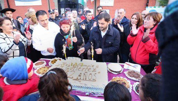 Con una fiesta celebraron los 132 años de Gutiérrez