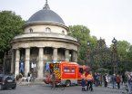 Un rayo hirió a 11 personas en París y están en estado muy grave