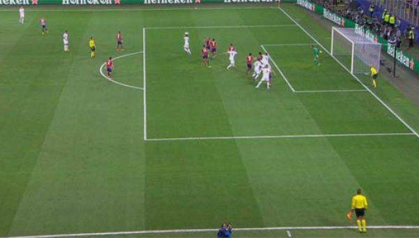 Polémico gol de Sergio Ramos: ¿estaba adelantado?