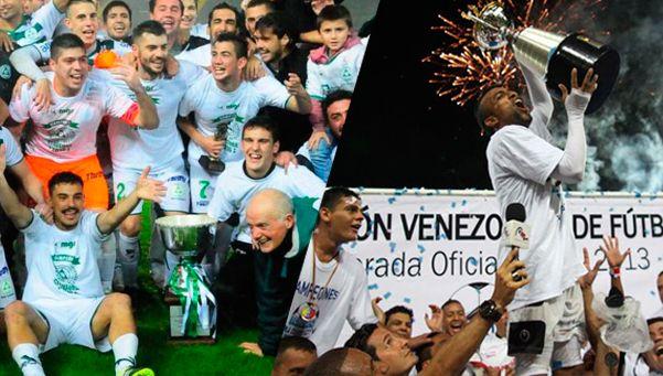 Fútbol sudamericano: Plaza Colonia y Zamora, de festejo