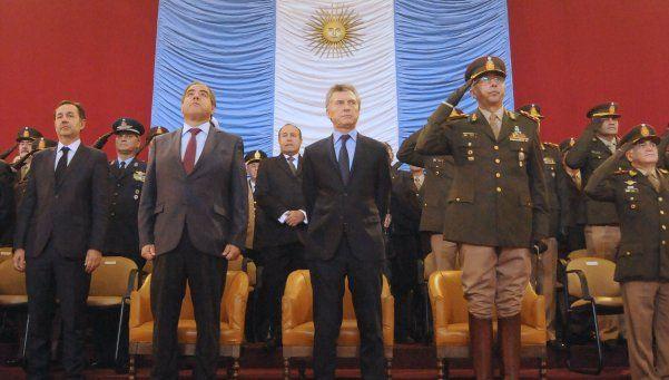 Macri en el aniversario del Ejército: Hay que dejar atrás las divisiones