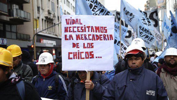 Barrios de Pie paralizó los accesos a la Ciudad por reclamos sociales
