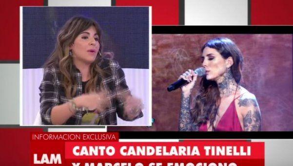 Gianinna Maradona les pegó al Bailando y a Candelaria Tinelli