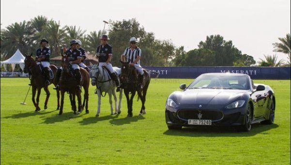 Maserati y La Martina, unidos por el polo
