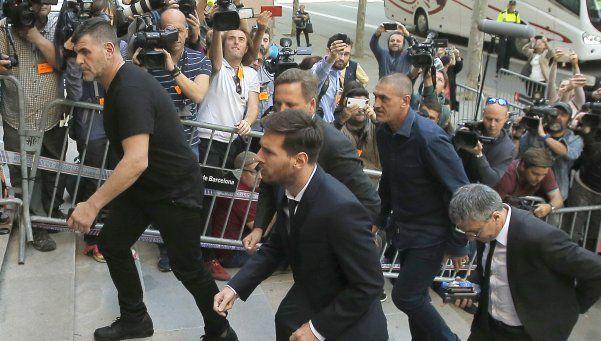 La declaración de Messi: Yo me dedicaba a jugar al fútbol
