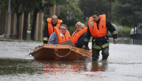 Las lluvias de París se trasladan a Alemania y dejan 9 muertos